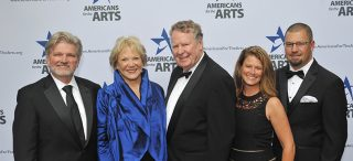 Brooks Resources Corporation Honored in Americans for the Arts Ceremony