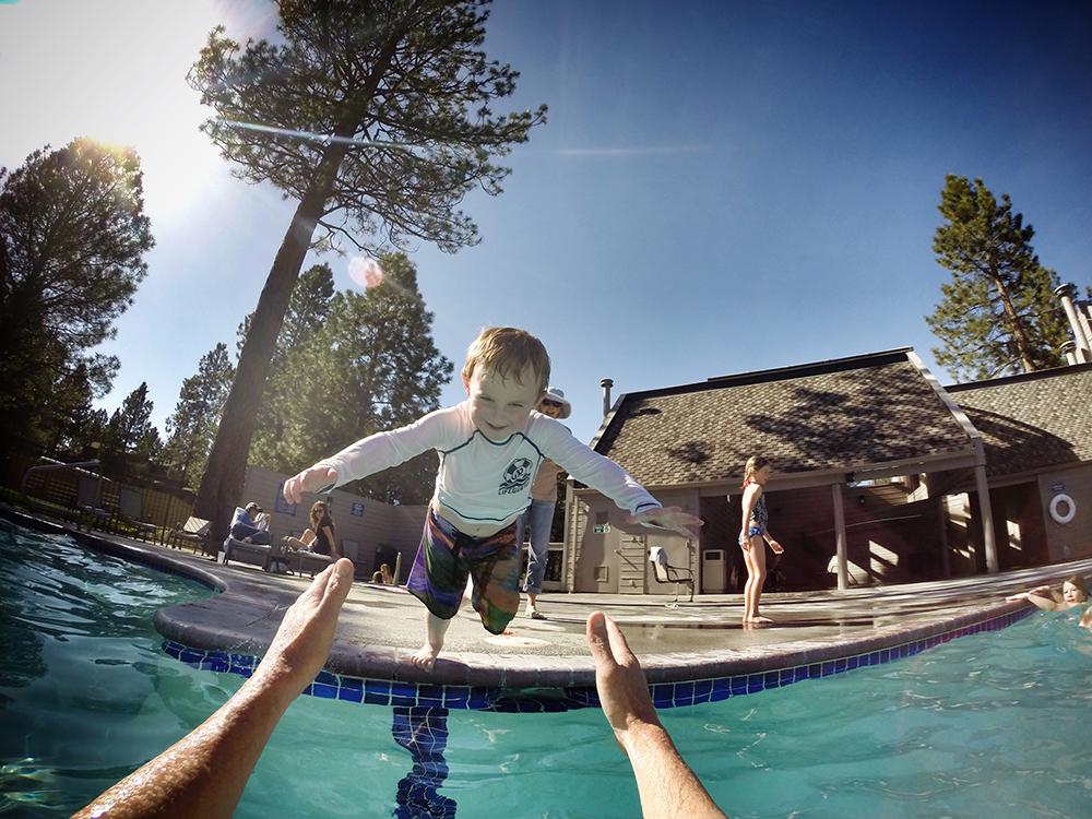 Mount Bachelor Village Resort Pool